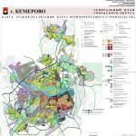 Карта этапов реализации, генеральный план города Кемерово