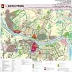 карта ОКН, генеральный план города Кемерово